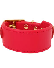 Red greyhound collar_5